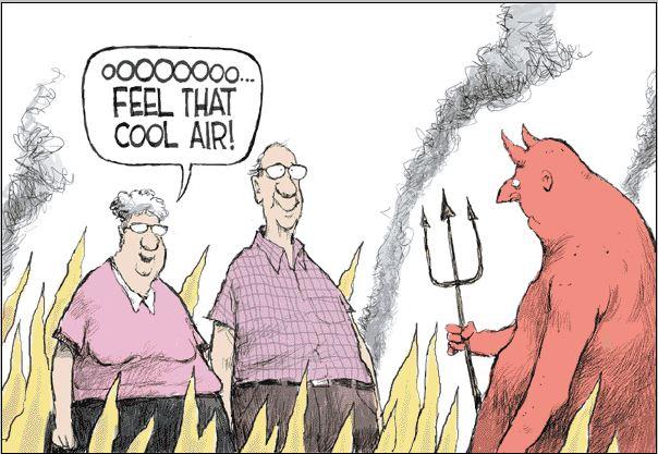 Arizonans think Hell is cool!