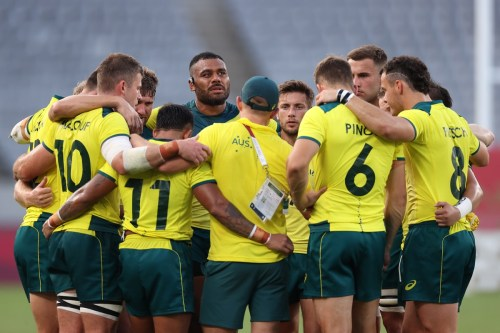 Australian rugby team at Olympics