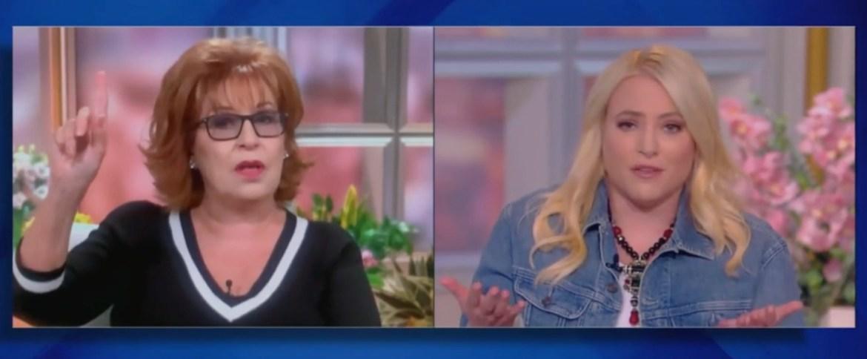 Joy Behar and Meghan McCain on The View