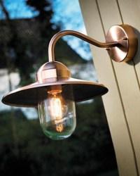 Copper Outdoor Lighting Fixtures | Light Fixtures Design Ideas