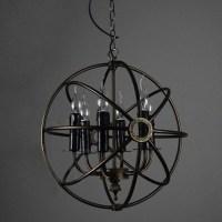 Iron Orb Light Fixture | Light Fixtures Design Ideas