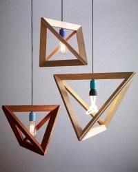Modern Wooden Light Fixtures   Light Fixtures Design Ideas
