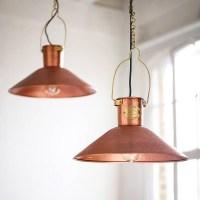 Raw Copper Light Fixtures | Light Fixtures Design Ideas