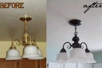 Spray Paint Light Fixtures | Light Fixtures Design Ideas