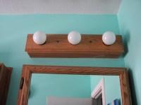 Wooden Bathroom Light Fixtures   Light Fixtures Design Ideas
