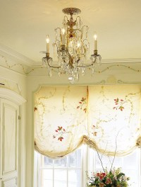 Antique Crystal And Brass Chandelier | Light Fixtures ...
