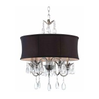 Chandeliers With Drum Shades | Light Fixtures Design Ideas