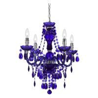 Elements Crystal Teardrop Mini Chandelier   Light Fixtures ...