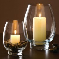 Hurricane Glass Candle Holder | Light Fixtures Design Ideas