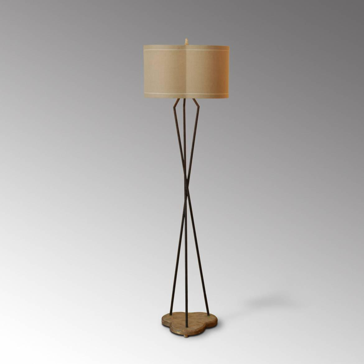 Japanese Style Paper Floor Lamps