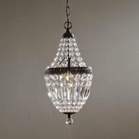 Mini Bronze Crystal Chandelier | Light Fixtures Design Ideas