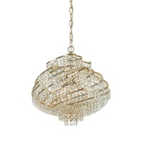 Mini Swag Crystal Chandelier | Light Fixtures Design Ideas