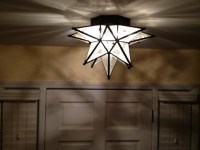 Moroccan Star Flush Mount Ceiling Light Fixture | Light ...