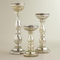 Tall Glass Pillar Candle Holders   Light Fixtures Design Ideas