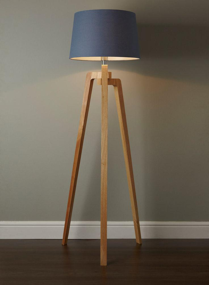 Tripod Floor Lamp DIY  Light Fixtures Design Ideas