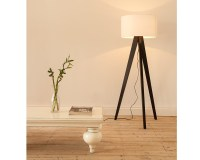 Tripod Floor Lamp Wooden