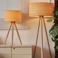 Tripod Wooden Floor Lamp | Light Fixtures Design Ideas