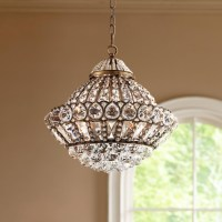 Wallingford 16 Wide Antique Brass And Crystal Chandelier ...