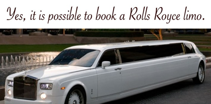 yes, it is possible to book a rolls royce limo in washington dc -