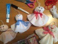 Teru Teru Bozu BestLivingJapan, Crafts with kids in Japan,Teru teru bozu (てるてる坊主)