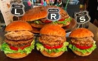 Sasa Burger sizes