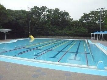 Shinagawa Community Pool しながわ区民公園屋外プール