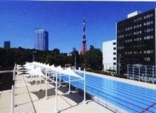 aqua field Minato-ku pool, Tokyo outdoor pools, Tokyo Pools - Where To Swim Outside This Summer in Tokyo