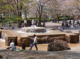 Asakayama Koen, Tokyo Splash Parks and Wading Pools