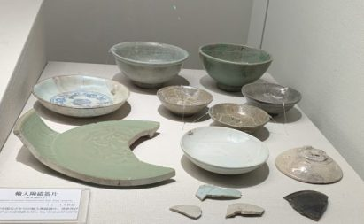 Karatsu Ceramics at Karatsu castle