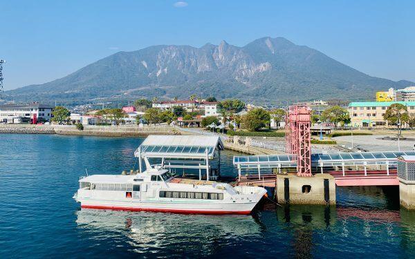 Shmaibara Ferry Terminal, Shibara to Kumatmoro Ferry, Kyushu Ferry