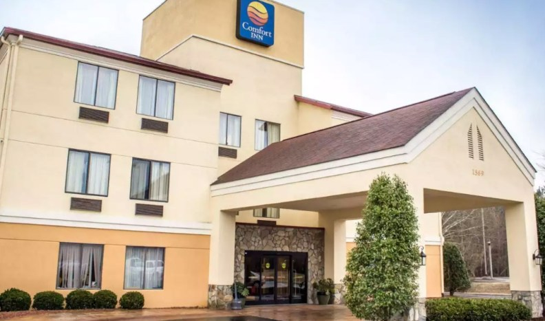 Get rested and ready for anything at the Comfort Inn