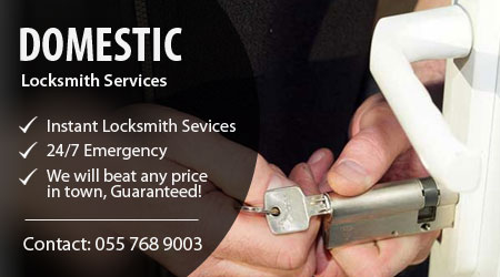 Domestic Locksmith Dubai