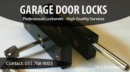 Locksmith For Garage Door Lock Installation, Change, Replacement and Repairing in Dubai