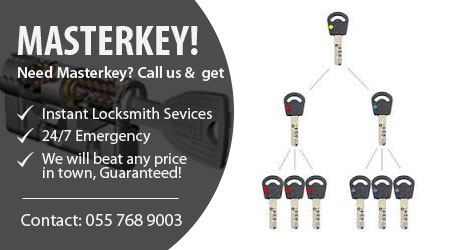 Locksmith for Master key Dubai