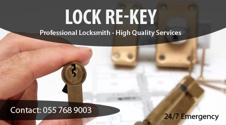 Locksmith for Re-Key Lock Services