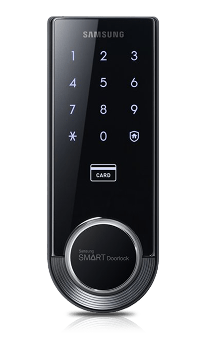 SHS-H705 Fingerprint Digital Door Lock from Samsung.