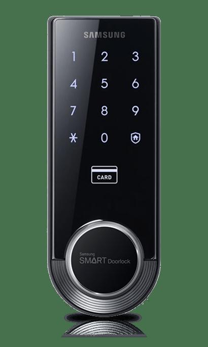 SHS-H705 Fingerprint Digital Door Lock from Samsung.