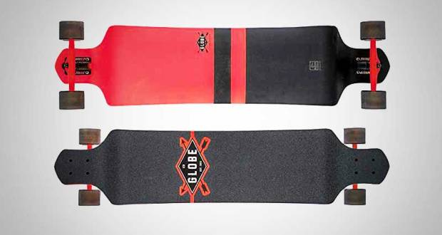 Globe Geminon Drop Down longboard Review