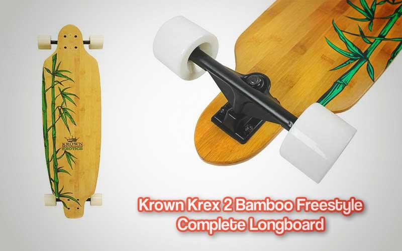 Krown Krex 2 Bamboo Freestyle Complete Longboard Review
