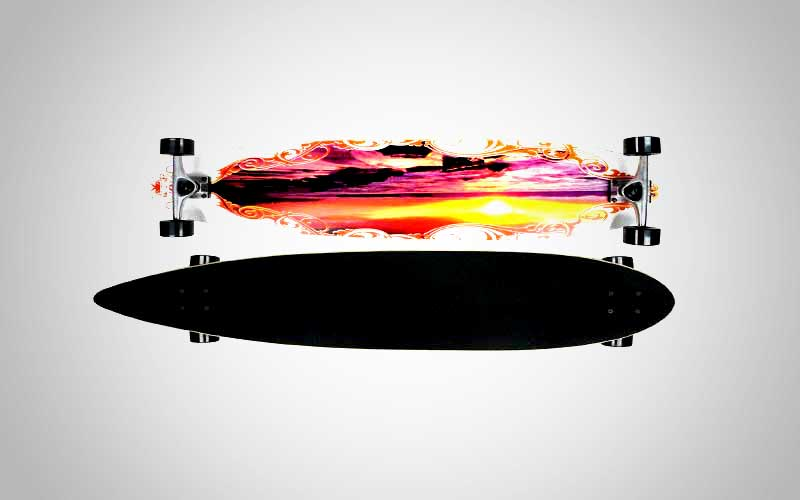 Krown Rasta City Surf Longboard Skateboard Review