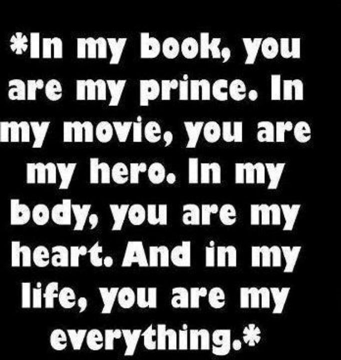 best love quotes - in my life you are my everything ...