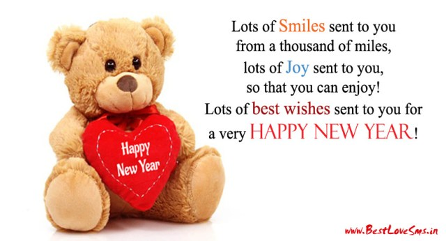 image result for happy new year sms wishes