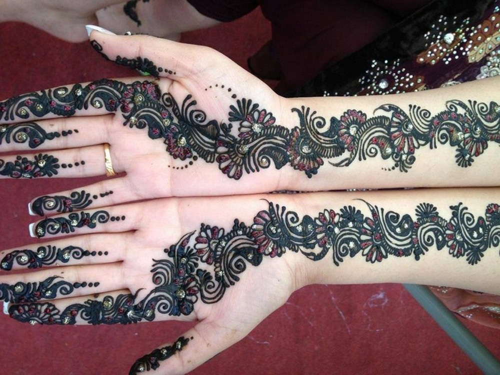 Easy Simple Arabic Mehndi Designs For Back Hands