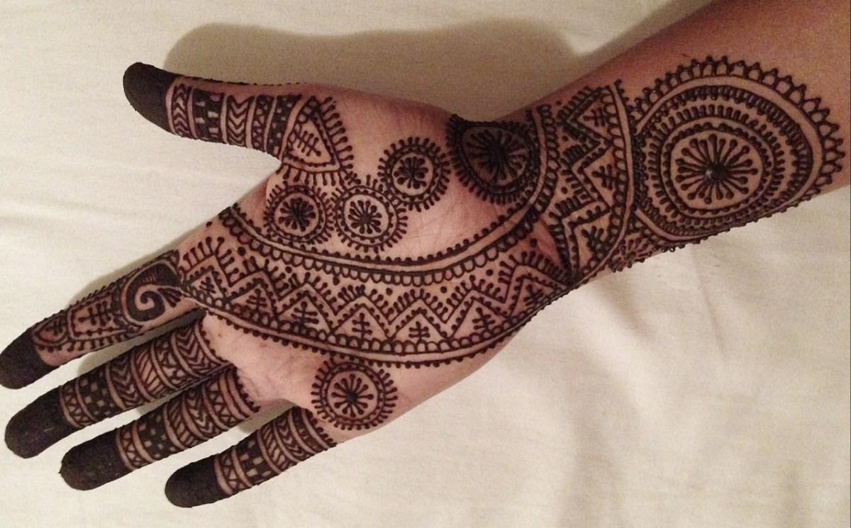 Arabic Mehndi Designs for Hand