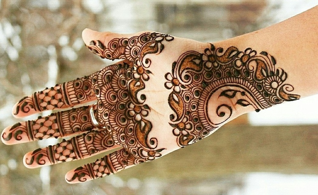 Mehndi Design for Hands Arabic