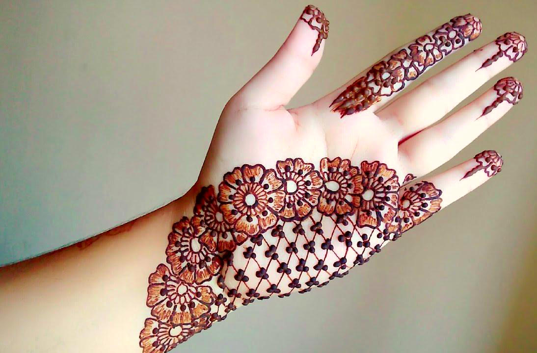 Mehndi Design 2018 Arabic Easy Back Hand