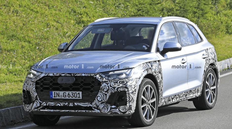 2022 Audi Q5 Spy Photos