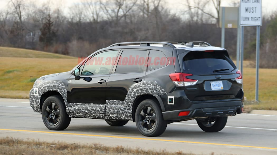 2022 Subaru Forester Spied Prepping For A Rugged Facelift With Regard To [keyword
