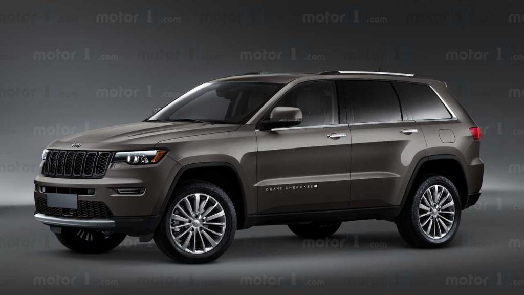 2022 Jeep Grand Cherokee Diesel Spy Shots