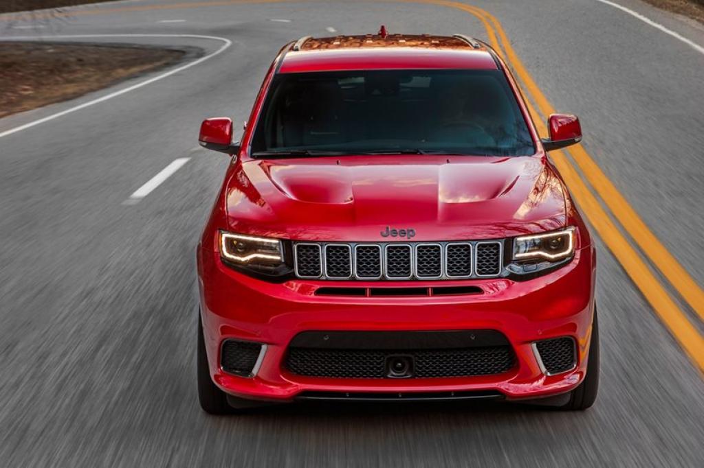 2022 Jeep Grand Cherokee SRT Spy Photos